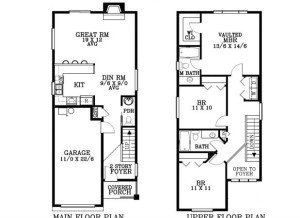 9833 N Exeter Ave Portland OR 97203 - floor plan